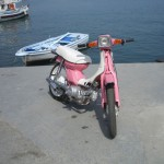 Barbie Moped...